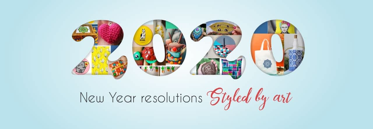 New Year Resolutions, Styled by Art!