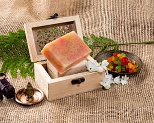 Aura Essentials Tutti-Fruity Soap Bar - India's First Fin commerce marketplace for artisans