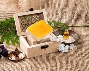 Aura Essentials Moisturising Honey Oatmeal Soap Bar - India's First fin commerce marketplace for artisans