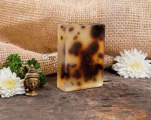 Aura Essentials Anti-acne Lemongrass and Lemon Soap Bar - India's first fin commerce marketplace for artisans