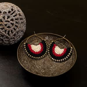 Crochet Earrings - India's first fin commerce marketplace for artisans