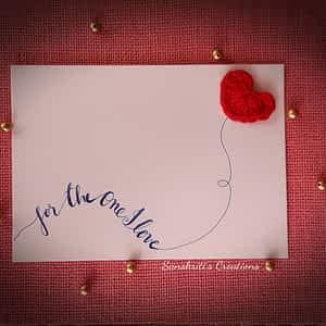 Crochet Card - Valentine special series