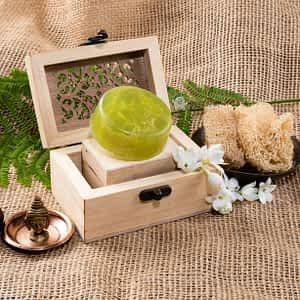Aura Essentials Exfoliating whole Loofah Soap - India's First fin commerce marketplace for artisans
