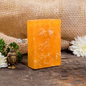 Aura Essentials Exfoliating Crushed Loofah Soap Bar - India's first fin commerce marketplace for artisans