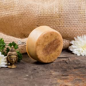 Aura Essentials Anti-acne Amba Haldi and Orange Soap Bar - India's First fin commerce marketplace for artisans