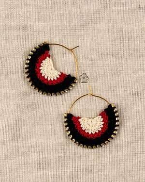 Crochet Earrings - India's first fin commerce marketplace for artisans